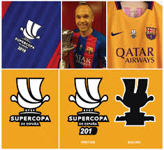 Últimas noticias, fotos, y videos de supercopa de españa las encuentras en trome.pe. Football Teams Shirt And Kits Fan Supercopa De Espana Chest Patch 2015 Thru 2016