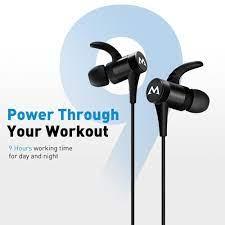 Mpow S8 kablosuz bluetooth kulaklık ipx6 su geçirmez kulak içi kulaklık 9H  çalışma süresi manyetik iphone için kulaklıklar Xiaomi Huawei|Bluetooth  Earphones & Headphones