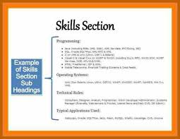 5 6 Resume Skills Section Resumesheets