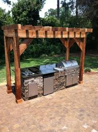 For Outdoor Kitchen Kitchens Fireplaces Quality Creative Landscaping Llc