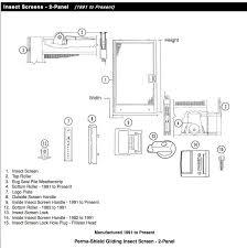 anderson sliding screen door replacement parts saudireiki