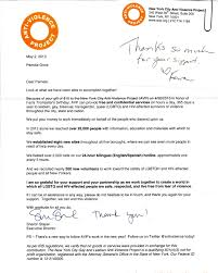 Non Profit Thank You Letter Template Docoments Ojazlink
