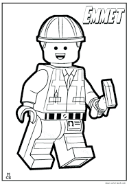The Lego Movie Coloring Pages Metabolismdietinfo