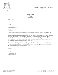 employment offer letter template apology letter  sample employment
