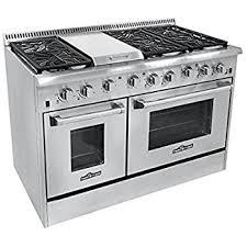 gas range burner.  Burner Thor Kitchen HRG4804U 6 Burner Gas Range With Double Oven Throughout I