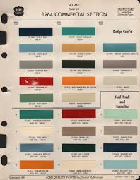 Paint Chips 1964 Ford Truck Truck Paint 1964 Ford Paint