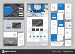 Office Stationery Design Templates Website Template Design Interface Elements Office Stationery