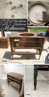 bathroom remodel do it yourself. Farmhouse Style Budget Bathroom Makeover By Prodigal Pieces | Prodigalpieces.com Remodel Do It Yourself