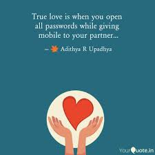 True Love Is Quotes Impressive True love is when you ope Quotes Writings by Adithya R