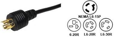 nema 14 30 wiring diagram images nema l6 15 power cord plug adapters
