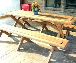 wooden round picnic table picnic table plans detached benches free picnic table plans picnic table plans detached benches fascinating free wooden picnic
