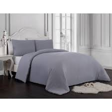 geneva home fashion gweneth 3 piece enzyme washed gray queen solid comforter set gwe3csquenghgy the home depot