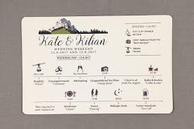 Wedding Itinerary Kampenwand Mountain German Wedding Weekend Timeline Card 2