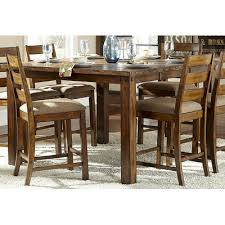three piece dining set: woodhaven hill ronan  piece dining set