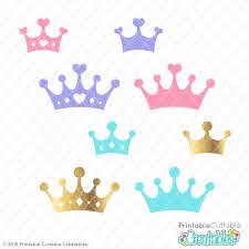Files are compatible with cricut, cameo silhouette studio and other cutting machines. Prince Princess Crowns Free Svg Files For Silhouette Cricut