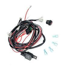generic universal wiring kit fog lights driving wiring harness generic universal wiring kit fog lights driving wiring harness fuse switch relay two led work fog light bar