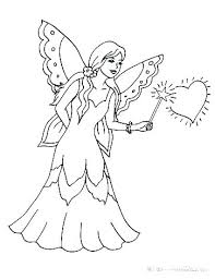 Free Printable Coloring Pages Fairies Fairy Tales Coloring Pages