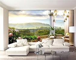 3d wall murals room wallpaper custom mural out of the window balcony painting home improvement uk