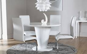 white round table and chairs nice with photo of white round decor new in design