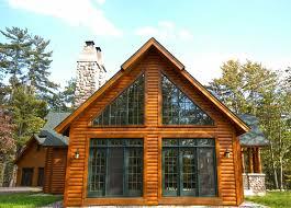 images about Log home ideas on Pinterest   Log Homes  Log    Chalet style Hybrid Log home