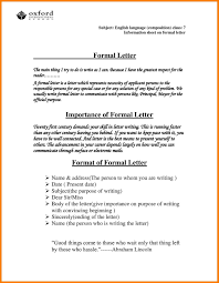 10 11 Official Letters Template Lasweetvida Com
