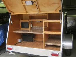 Camper Trailer Kitchen Teardrop Camping Trailers By Retro Ride Teardrops