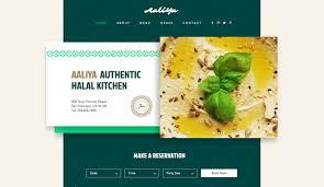 Restaurant Website Templates New Restaurant Website Templates Restaurants Food Wix