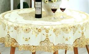 lace tablecloths disposable round tablecloths gold round plastic lace tablecloths round plastic lace disposable round