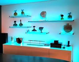 led glass shelf lighting glass shelf with led lighting inside glass shelf lighting led glass shelf