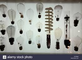 Historic Light Bulbs Light Bulb History Stock Photos Light Bulb History Stock