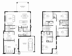 simple one story 4 bedroom house plans lovely simple two story house plan elegant high quality