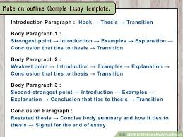 how to write an analytical essay steps pictures in  how to write an analytical essay 15 steps pictures in 3 body