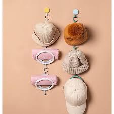 3pc wall mount hat holder rack storage