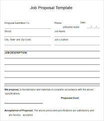 free printable bid proposal forms free bid proposal template downloads printable blank bid proposal