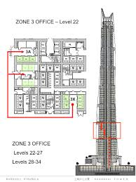 architecture blueprints skyscraper. Shanghai Tower Elevator System Drawings And Illustrations By Gensler - Zone 3 Office © Gensler/Marshall Strabala Architecture Blueprints Skyscraper