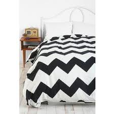 black and white bed covers. Modren White Zigzag Duvet Cover  BlackWhite Twin Guest Room Throughout Black And White Bed Covers