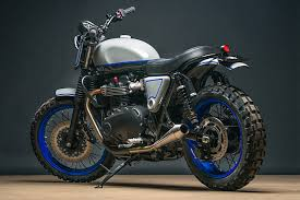 the dirty twin analog motorcycles triumph street twin scrambler