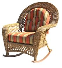 outdoor wicker rocking chair chairs with cushions tips