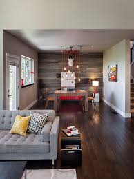 affordable barnwood accent wall has