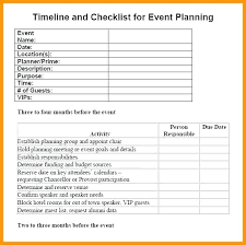 Birthday Planner Template Adorable Event Planning List Template Events Planning Checklist Excel Wedding