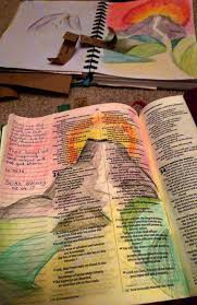 is journaling a word my bible journaling process cathy adele