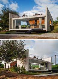 13 Modern House Exteriors Made From Concrete | The mostly concrete exterior  of this house gives