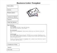Format Free Download Business Letter Template Letters