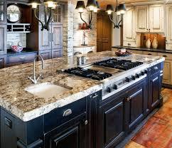 Kitchen Granite Island Kitchen Wonderful Remarkable Wooden Kitchen Island Sink And