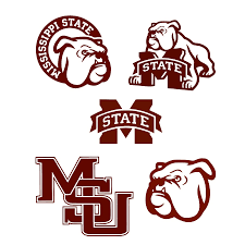 Mississippi State University Embroidery Designs Mississippi State Bulldogs Logos