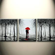 umbrella wall art top hand painted black and white style abstract on red umbrella metal wall art with beach umbrella metal wall art wall designs