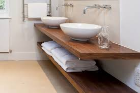 floating basin counter tops