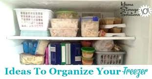 how to organize a chest freezer freezer organizer ideas lots of real life ideas for how
