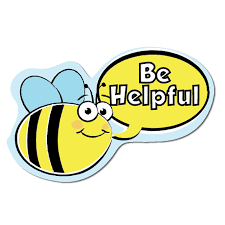 Bee Behaviour Chart Set Of 9 Busy Bees Behaviour Signs