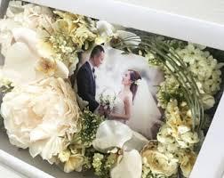 wedding bouquet box etsy